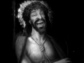 Nazarin (Luis Bunuel) laughing Christ