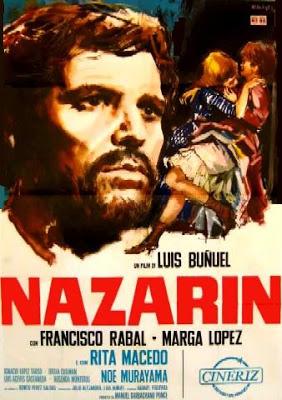 Nazarin (Luis Bunuel) poster