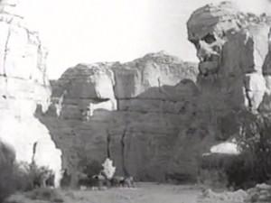 RIDERS OF THE WHISTLING SKULL (1937) film still