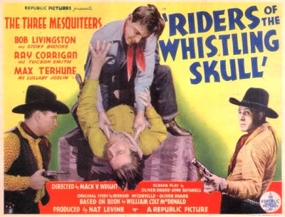 RIDERS OF THE WHISTLING SKULL (1937) The Three Mesquiteers