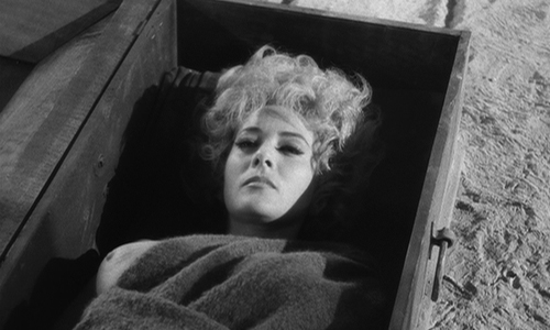 Simon of the Desert (1965 dir. Bunuel)  Silvia Pinal