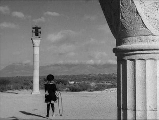 Simon of the Desert (Luis Bunuel)Claudio Brook  Silvia Pinal