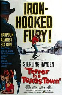 Terror in a Texas Town (1958) poster