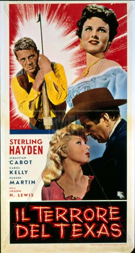 Terror in a Texas Town (1958) theatrical release poster