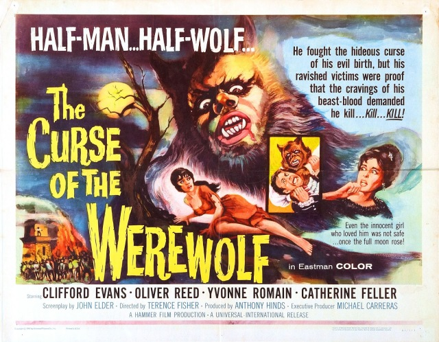 THE CURSE OF THE WEREWOLF (1961) Oliver Reed