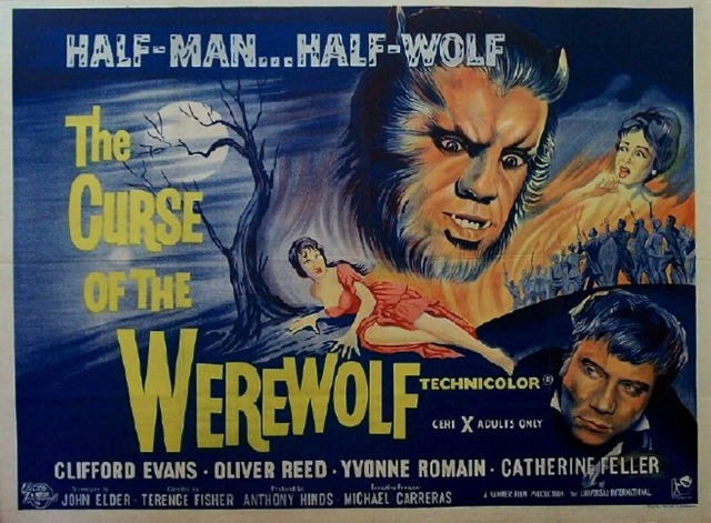 THE CURSE OF THE WEREWOLF (1961) Terence Fisher.