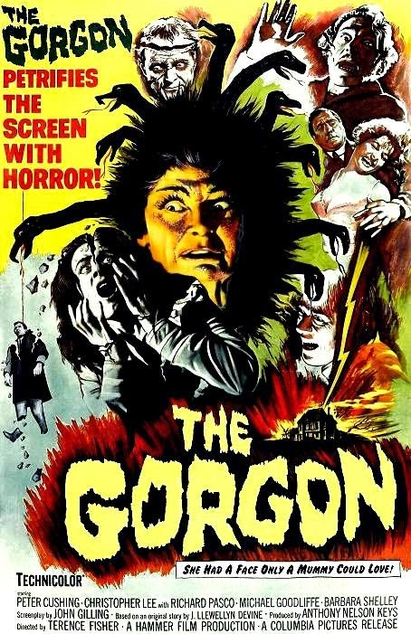 The Gorgon (1964) Terence Fisher. poster