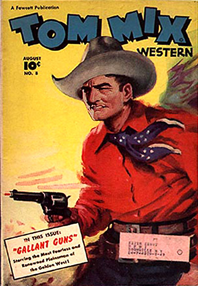 Tom Mix comics %22Gallant Guns%22