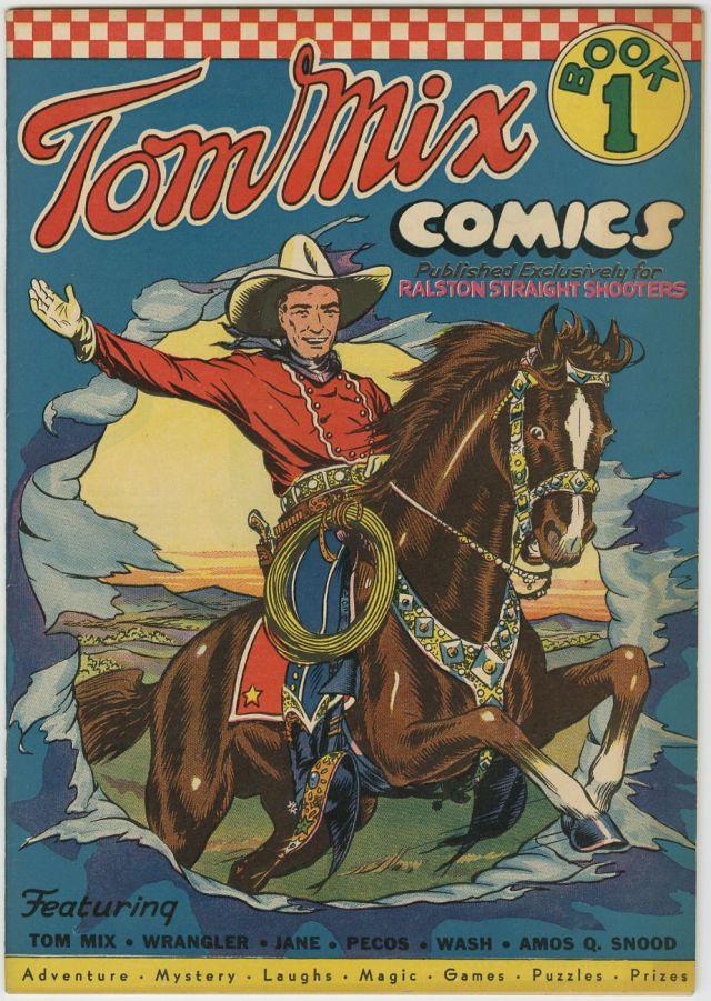 TOM MIX comics