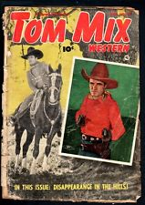 Tom Mix Western Comics 1950