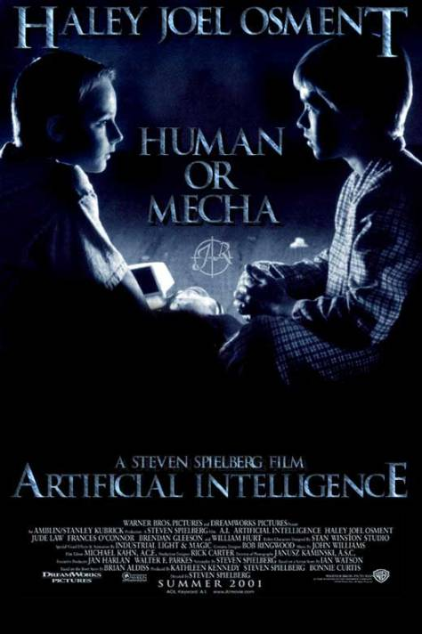 A.I. (2001 Spielberg) poster