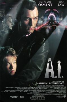 A.I. (2001 Spielberg) Theatrical poster