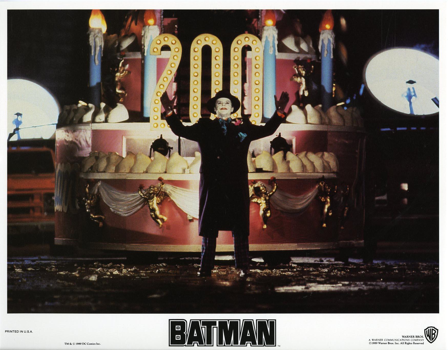 25th anniversary tim burton s batman 1989 alfred eaker s the tim burton lobby card jack nicholson as the joker