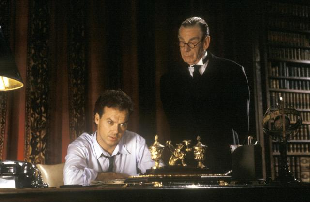 BATMAN (1989) Michael Keaton, Michael Gough