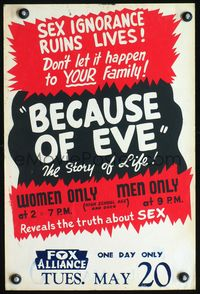 Because of Eve (1948) ad
