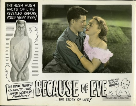 Because of Eve (1948) lobby card