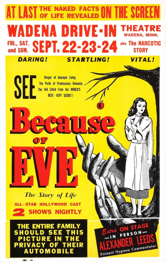 Because of Eve (1948) poster