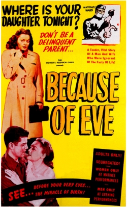 Because of Eve (1948) theatrical poster