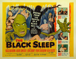 BLACK SLEEP (1956) lobby card