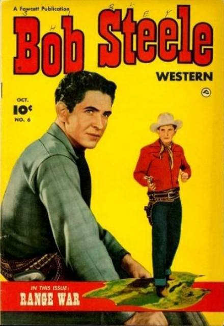 Bob Steele western comic #1