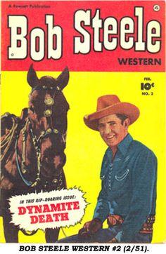 Bob Steele western comic # 2