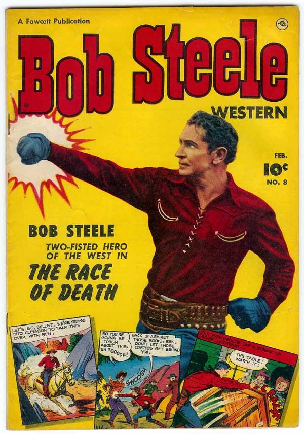 Bob Steele western comic #8