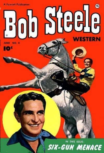 Bob Steele western comic