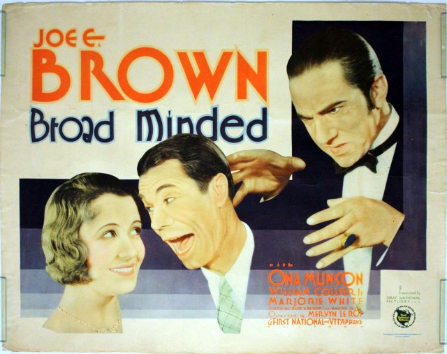 Broad Minded (1931) Bela Lugosi poster