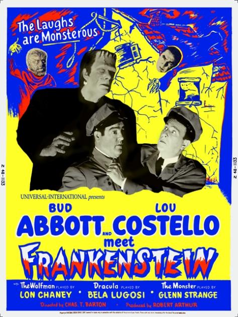 Bud Abbott & Lou Costello Meet Frankenstein (1948) poster