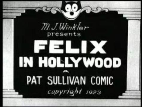 Felix In Hollywood 1923