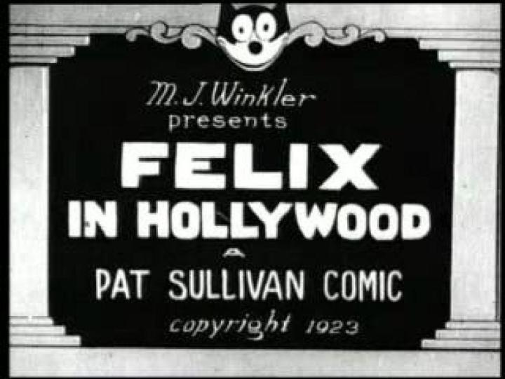 Felix In Hollywood 1923