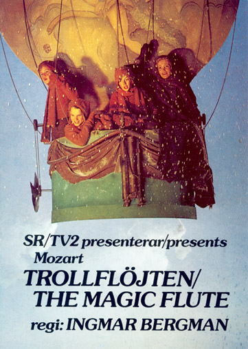 Ingmar Bergman The Magic Flute (1975) advertisement
