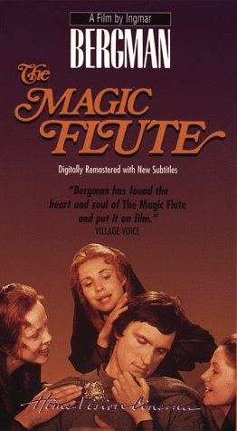 Ingmar Bergman The Magic Flute vhs edition