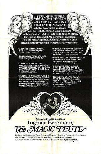 Ingmar Bergman's The Magic Flute advertisement
