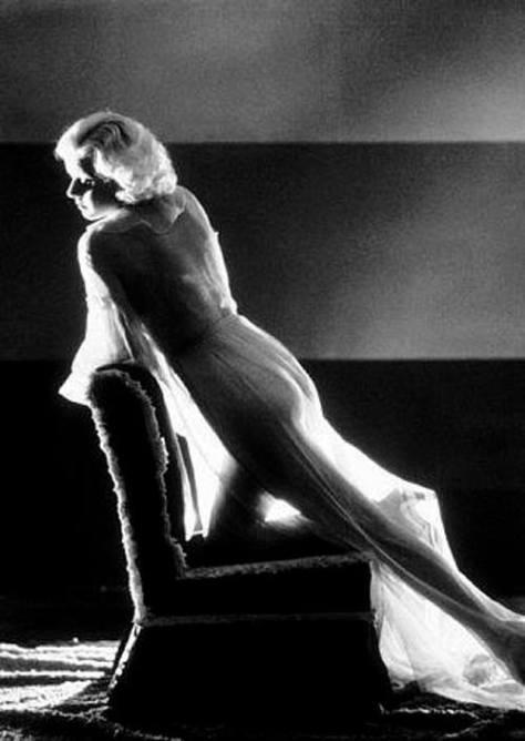 Jean Harlow dress