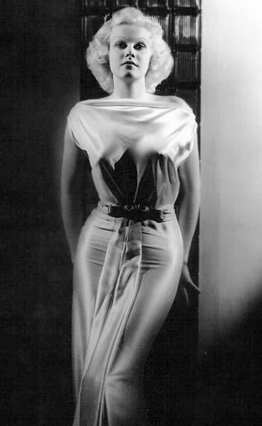 Jean Harlow (white dress)
