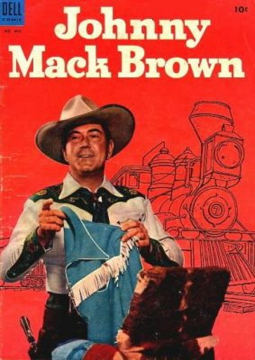 Johnny Mack Brown comic (Dell)