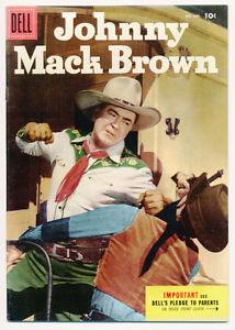 Johnny Mack Brown comic