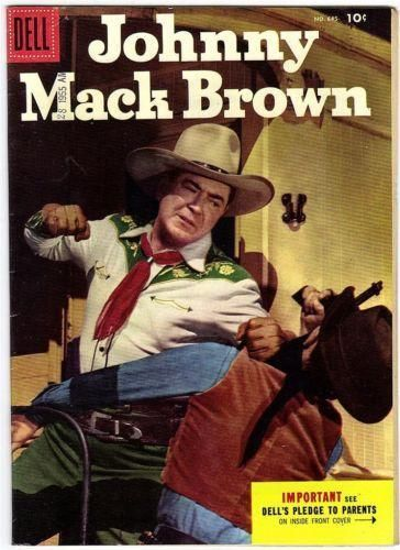 JOHNNY MACK BROWN Comic