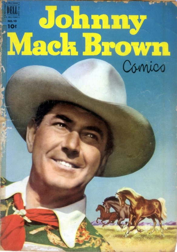 Johnny Mack Brown comics
