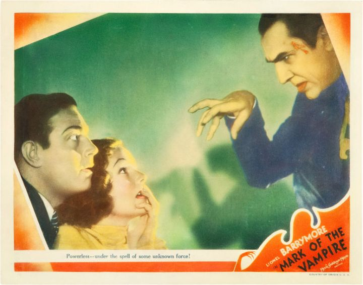 MARK OF THE VAMPIRE (TOD BROWNING 1935) BELA LUGOSI lobby card
