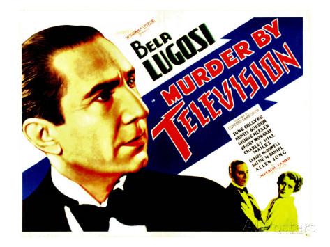 MURDER BY TELEVISION (1935) US Lobby card. Bela Lugosi