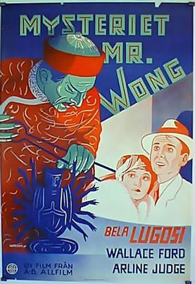 MYSTERIOUS MR. WONG 1934 poster