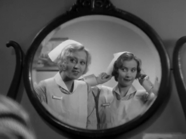 Night Nurse (1931 Dir. Wellman) Joan Blondell, Barbara Stanwyck