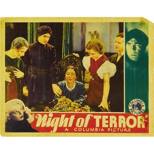 Night of Terror (1933) LOBBY CARD. Bela Lugosi