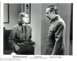 NINOTCHKA (1939) lobby card. Greta Garbo, Bela Lugosi