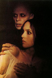Nosferatu (1979) Isabelle Adjani and Klaus Kinski