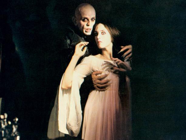 Nosferatu (Herzog 1979) Klaus Kinski and Isabelle Adjani