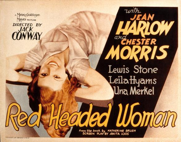 Red Headed Woman (1932 Jack Conway) Jean Harlow