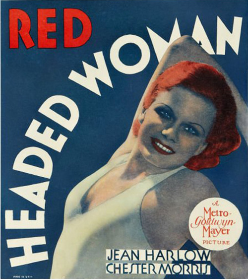 Red Headed Woman (1932) Jean Harlow, Chester Morris